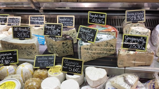 Flavors of Paris Walking Tours: Cheese at the Marche St. Germain