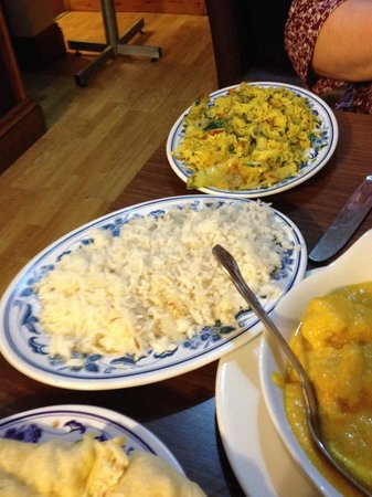 New Balti House Ltd: Coconut and vegetable rice, beats any rice around