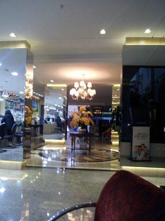 BEST WESTERN Taroba Hotel: Sala de recepção