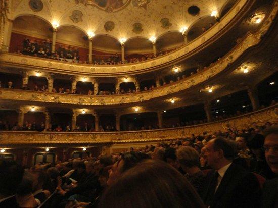 Opernhaus Zurich: the hall