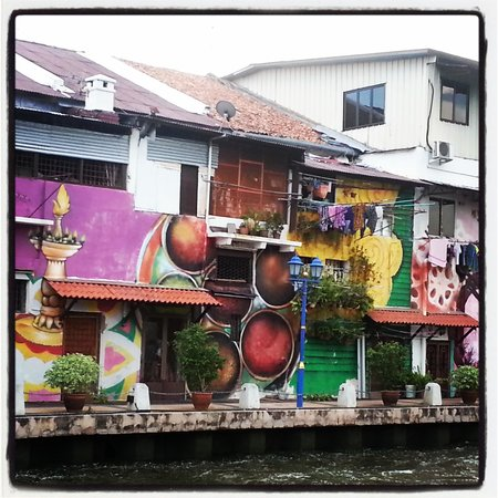 Malacca River: wall art