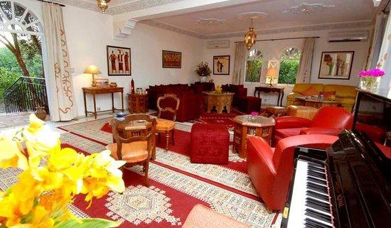 Hotel Palais Saguia: le salon