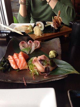 Yatai Izakaya: £25 sashimi