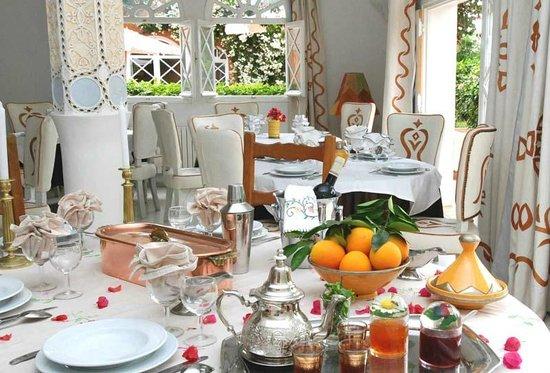 Hotel Palais Saguia: salle a manger
