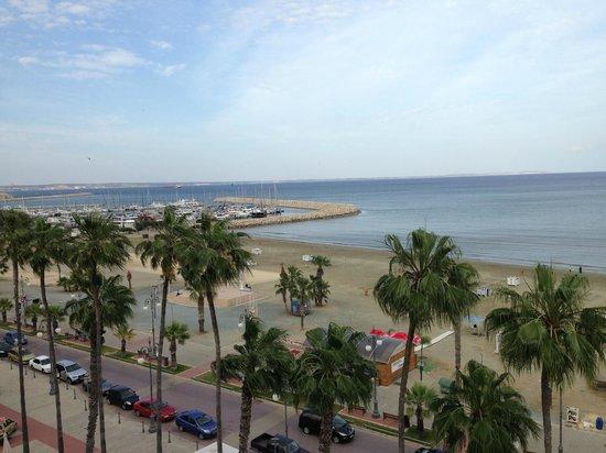 Les Palmiers Beach Hotel: Вид на море
