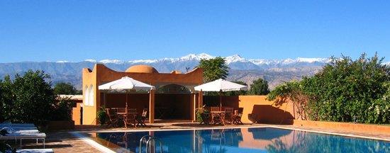 Hotel Palais Saguia: vue montagne