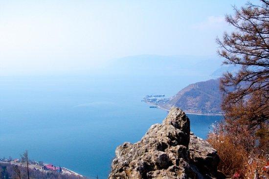 Lake Baikal: View from a vantage point