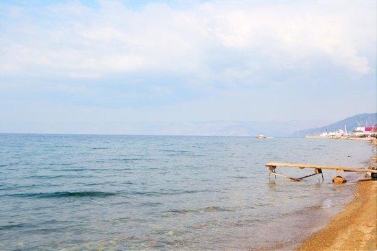 Lake Baikal: View from the shore