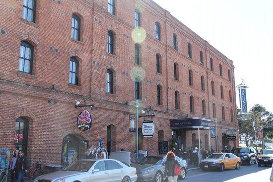Argonaut Hotel, A Noble House Hotel: Prospetto Argonaut Hotel