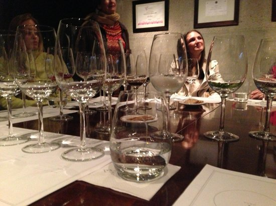 Trout & Wine Tours: pulenta wine tasting