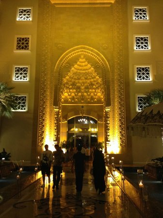 Jumeirah Zabeel Saray: Main entrance
