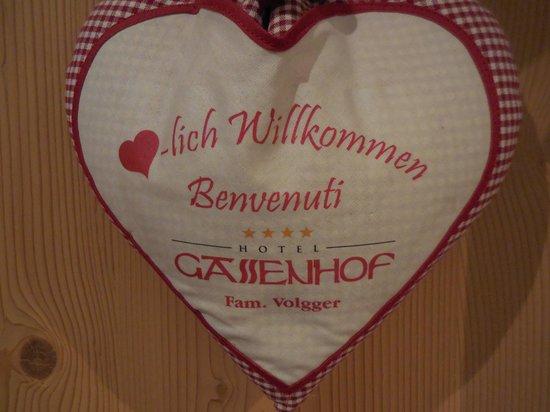 Erlebnishotel Gassenhof: Benvenuto