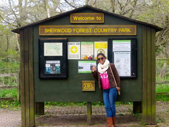 Sherwood Forest: Welcome Post