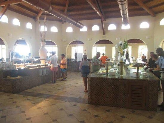 IBEROSTAR Club Boa Vista: Grands buffets copieux