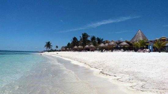 PavoReal Beach Resort Tulum: spiaggia hotel
