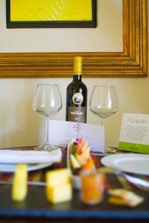 Paradisus Palma Real Golf & Spa Resort: viño de benvenida