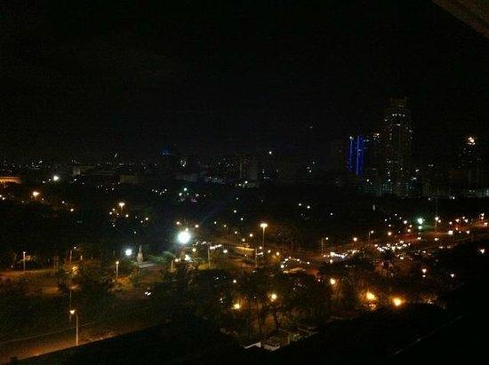 The Manila Hotel: night view