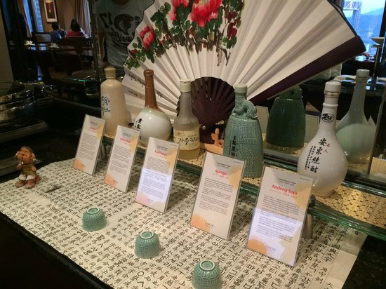 Lotte Hotel Seoul: Happy Hour Soju Buffet Selection at Club Lounge