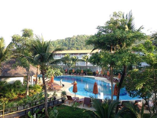 Aonang Villa Resort: View from the balcony