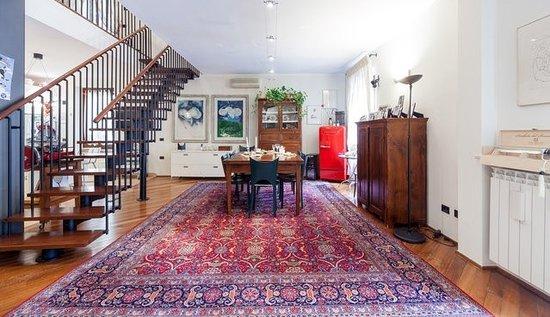 soggiorno moderno ed elegante - Foto di B&B Mela, Verona - TripAdvisor