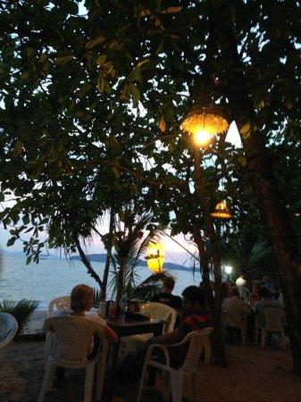 Aonang Villa Resort: The Last Fisherman Bar at the end of the small seafront path