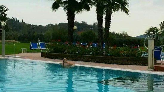 Hotel Abano Leonardo Da Vinci Terme & Golf: Piscina esterna
