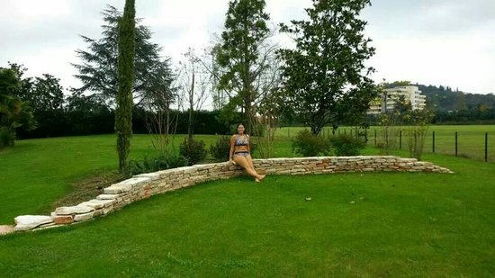 Hotel Abano Leonardo Da Vinci Terme & Golf: Giardino