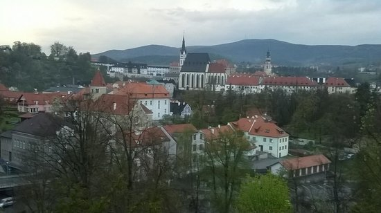 Penzion Svet: Our view from the room window