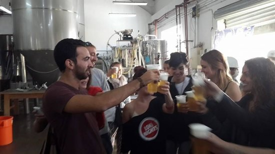 The Saya Beer Brewery Tour