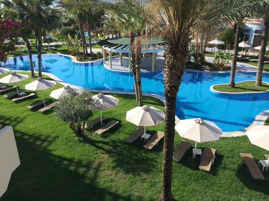 Atrium Palace Thalasso Spa Resort & Villas : View from our room!