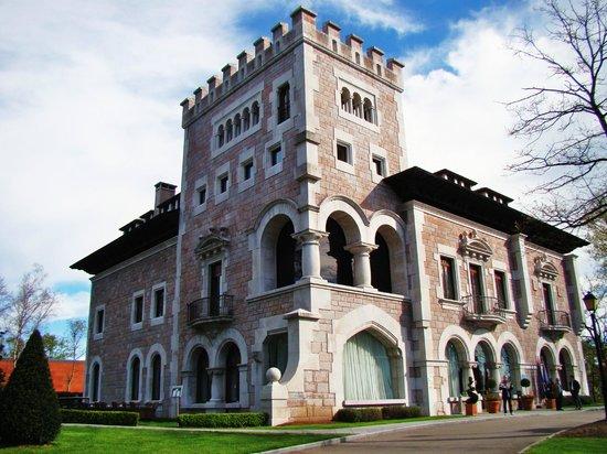 Castillo del Bosque la Zoreda: fachada del hotel