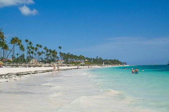Paradisus Palma Real Golf & Spa Resort: playa en frente ao resort