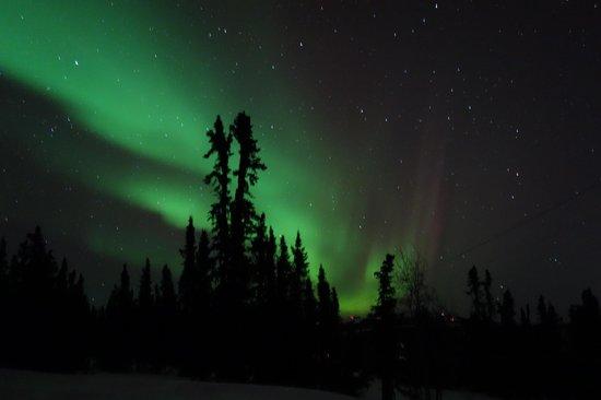 Aurora Borealis Lodge: Northern lights!