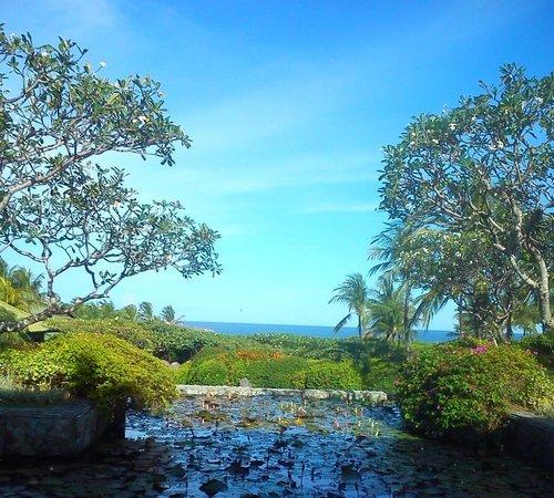 Grand Hyatt Bali: Hotel lagoon
