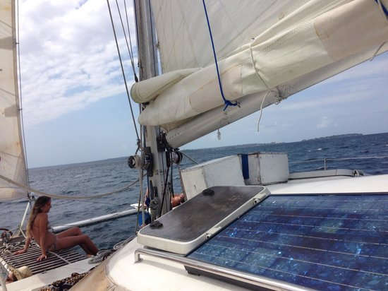 Bocas Sailing: Beautiful day