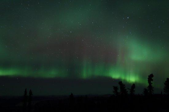 Aurora Borealis Lodge: observation deck view