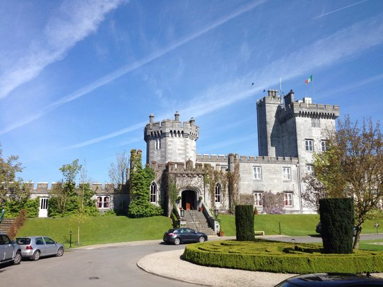 Dromoland Castle Hotel: View from our room 226, how awful ;) xx