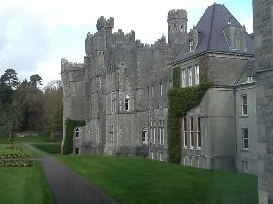ashford castle- bedroom view