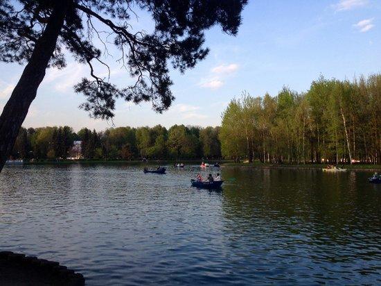 Izmailovsky Park: Отдых на воде