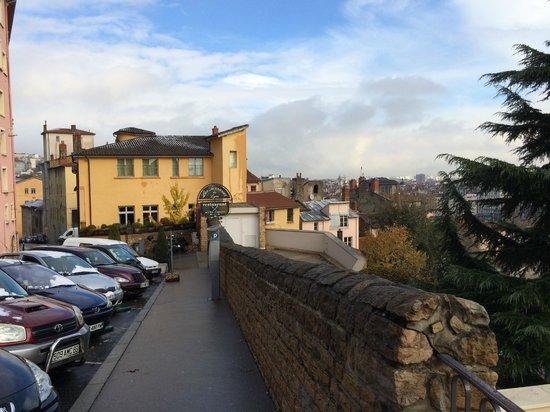 Villa Florentine: parvis de l'hôtel