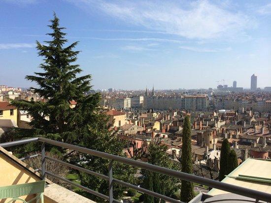 Villa Florentine: vue du parvis de l'hôtel