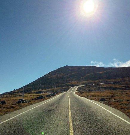 Mount Washington: On the way up Mt. Washington