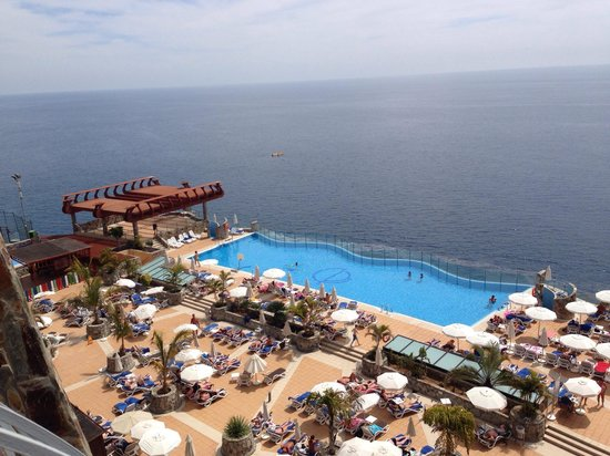 Gloria Palace Amadores Thalasso & Hotel : View from our balcony