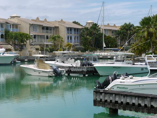 Port St. Charles: A view of the marina