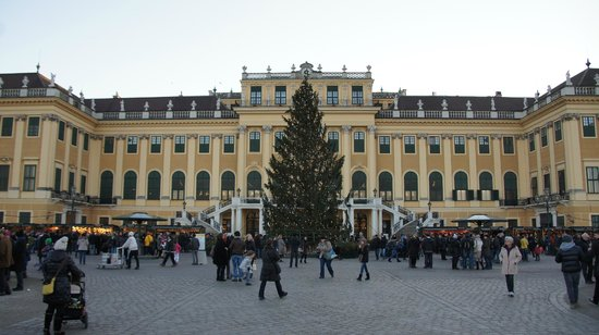 Schoenbrunn Palace Christmas Market: Christmas Market at Schoenbrunn Palace