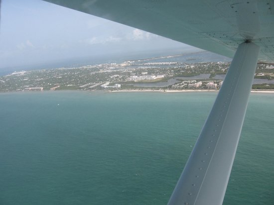 Key West Seaplane Adventures: Key West from the Seaplane