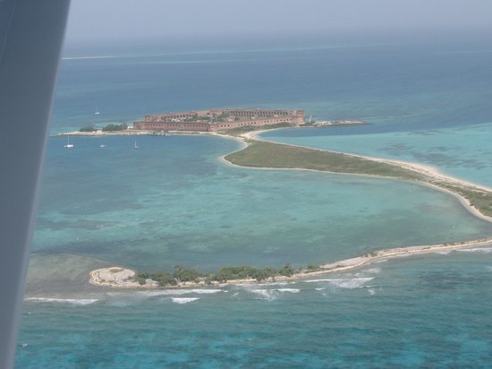Key West Seaplane Adventures: Dry Tortugas from the air
