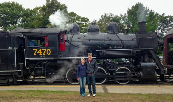 Conway Scenic Railroad: Heating up