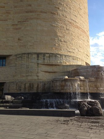 National Museum of the American Indian : Flowing water