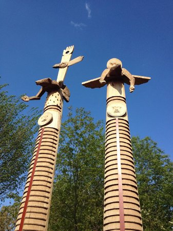 National Museum of the American Indian : In front of the museum
